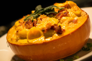 Roast Pumpkin Mac and Cheese